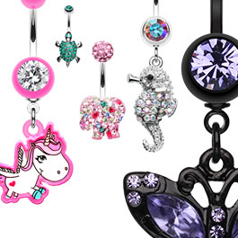 Creature and Animal Navel Rings Australia