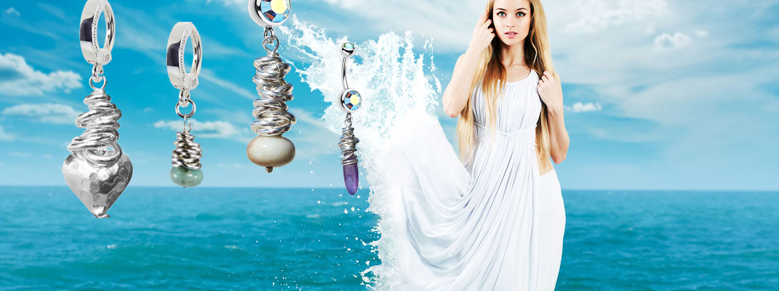 Sea Goddess Saltwater Silver