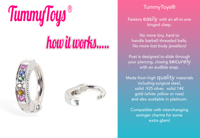 How TummyToys Navel Clasps Work