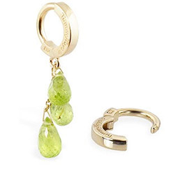 TummyToys® 14K Yellow Gold Peridot Navel Ring