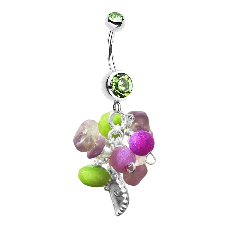 Saltwater Peridot Avant Sea Shells. Shop Belly Rings.