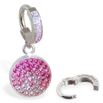 TummyToys® Dusk Swarovski Belly Ring. Quality Belly Rings.