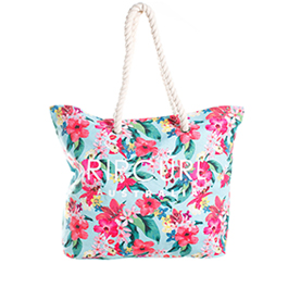 Authentic Rip Curl Swell Beach Tote - Genuine Rip Curl Australia Floral Beach Bag