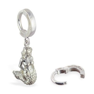 TummyToys® Mermaid Belly Huggy. Designer Navel Rings.