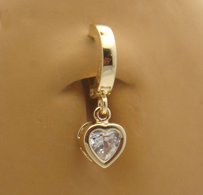 solid gold diamonds belly button rings australia