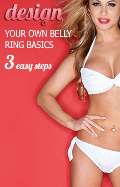3 Easy Steps to Create Your Own Belly Ring