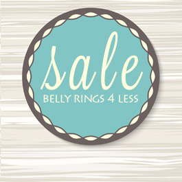 Find bargain priced belly rings